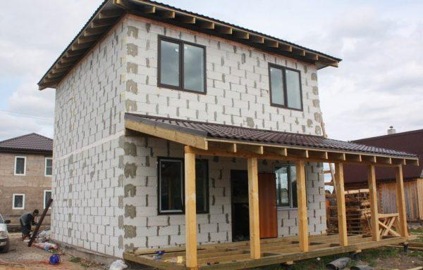 Дом (газобетон) 150 м²