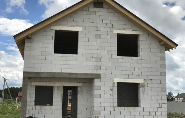 Дом (газобетон) 170 м²