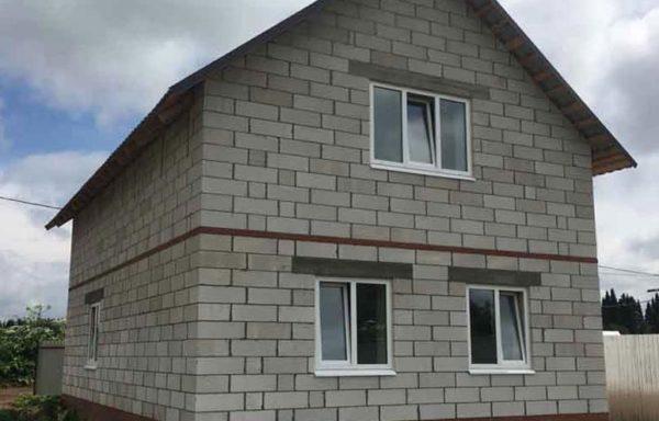 Дом (газобетон) 70 м²
