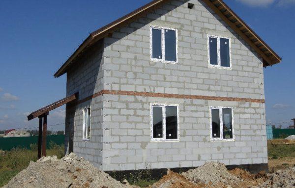 Дом (газобетон) 80 м²