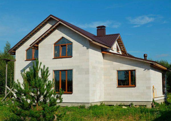 Дома из кирпича и газобетона