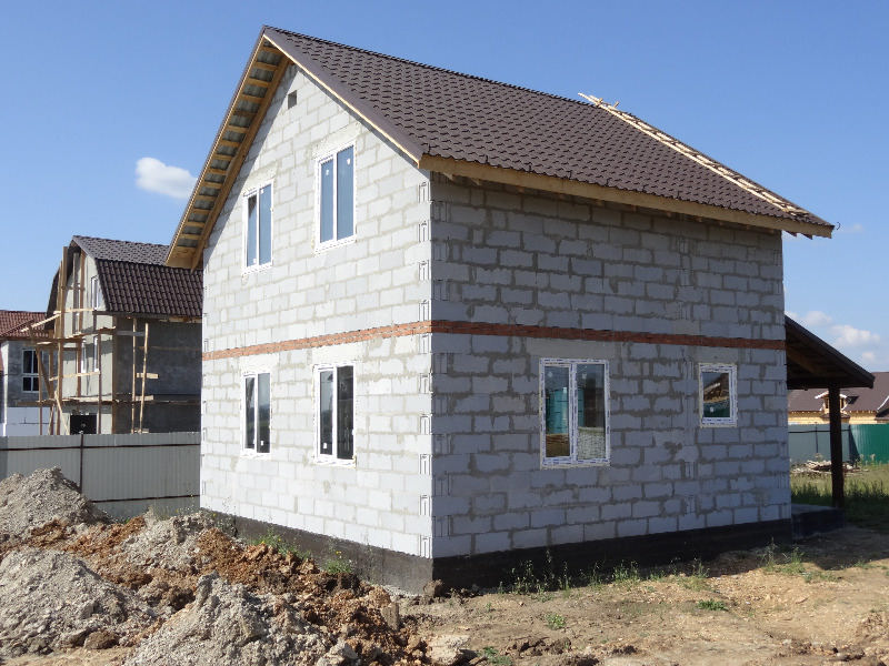 Дом (газобетон) 60 м²