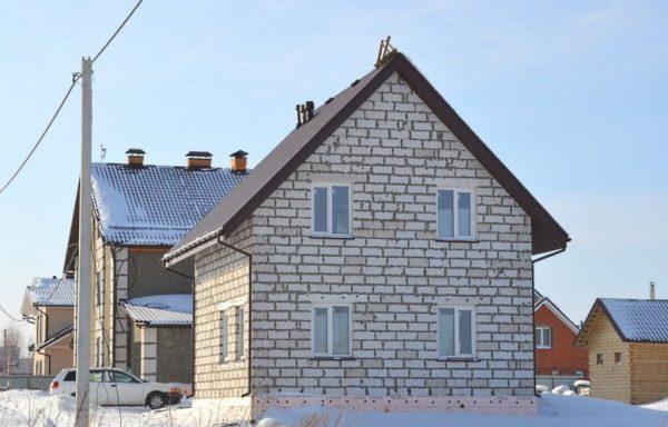 Дом (газобетон) 120 м²
