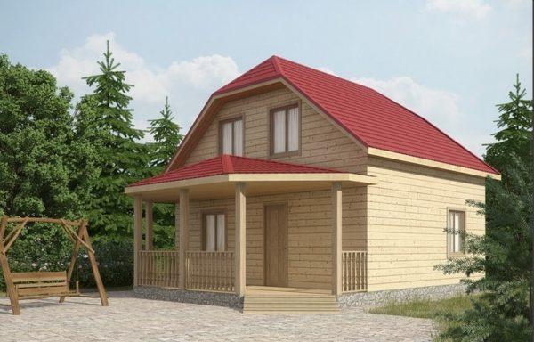 Дом-121 7 × 8,5