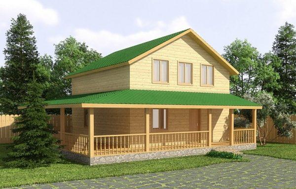 Дом-143 9,5 × 10