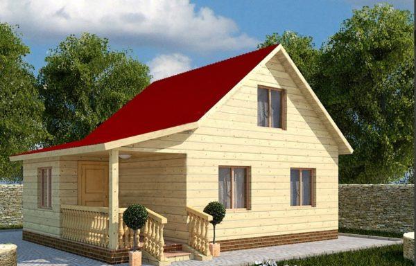 Дом-105 6 × 8