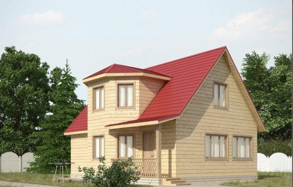 Дом-129 7 × 7