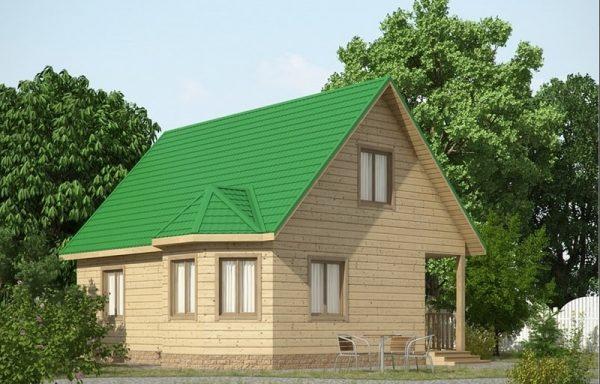 Дом-118 7 × 8