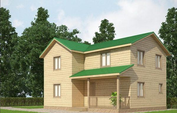 Дом-140 7 × 9