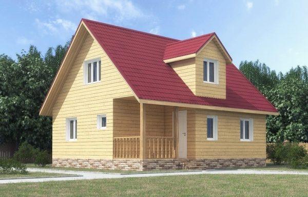 Дом-126 7 × 8
