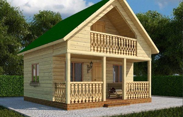 Дом-104 6 × 8