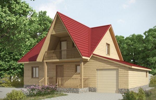 Дом-160 8,5 × 12