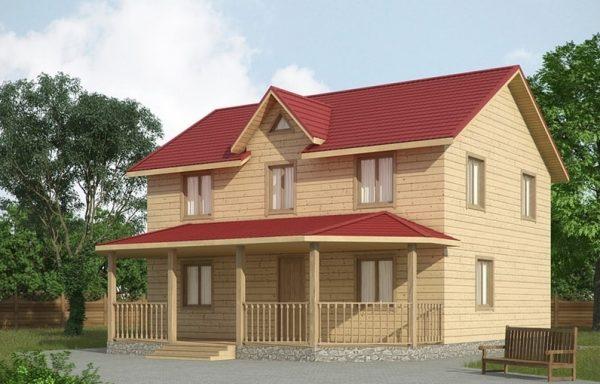 Дом-150 9 × 10