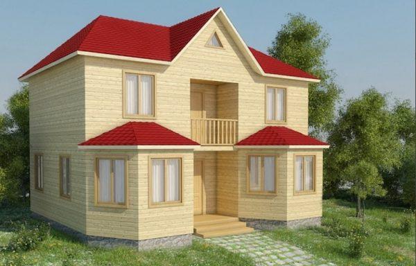 Дом-130 7 × 8,5