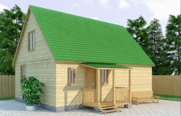 Дом-122 6 × 8