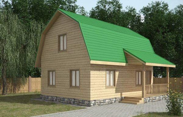 Дом-123 7,5 × 8