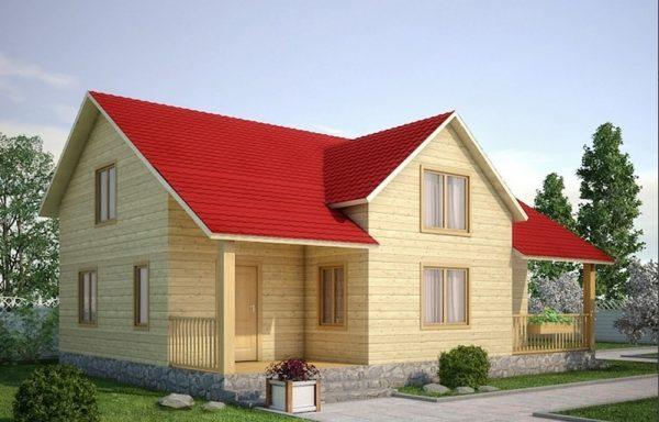 Дом-151 8 × 9,5