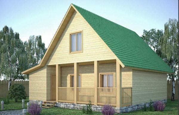 Дом-120 7 × 8