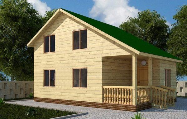 Дом-112 6 × 8