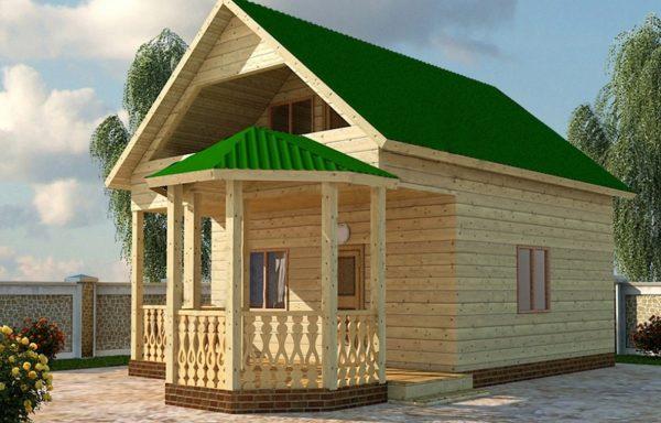 Дом-109 6 × 10