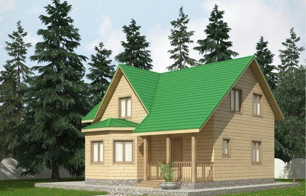 Дом-145 8 × 9