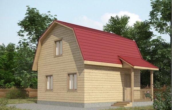 Дом-101 6 × 6